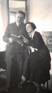 Прадедушка с моей бабушкой Мика Люция Убальдовна